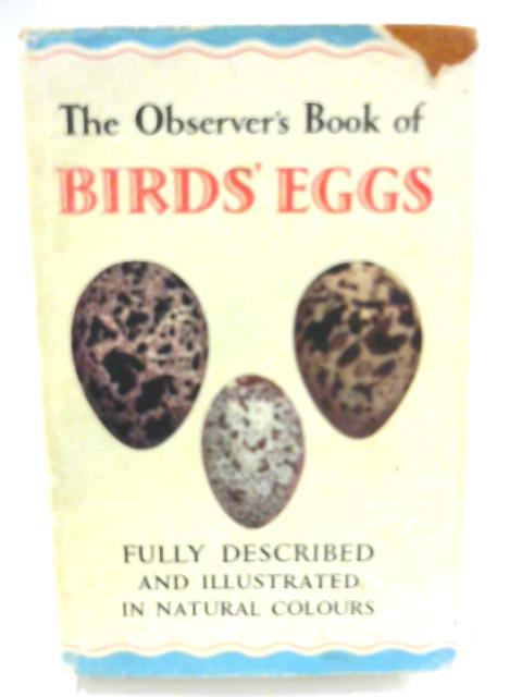 The Observer's Book of Birds Eggs By G. Evans