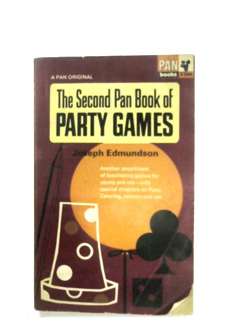 The Second Pan Book Of Party Games By Joseph Edmundson