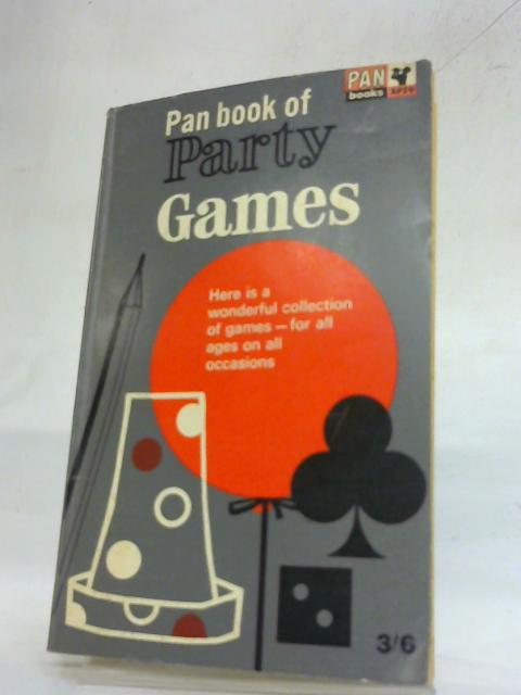 The Pan Book of Party Games by Joseph Edmundson