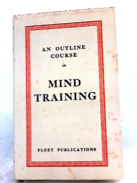 An Outline Course in Mind Training by Harold Herd