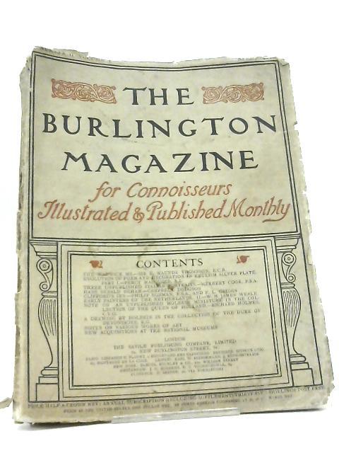 The Burlington Magazine for Connoisseurs Volume I, Number II (April 1903) by Various
