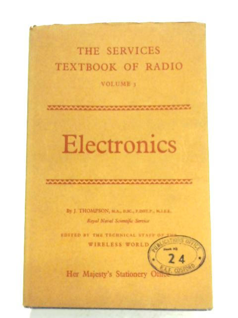 Electronics by J. Thompson