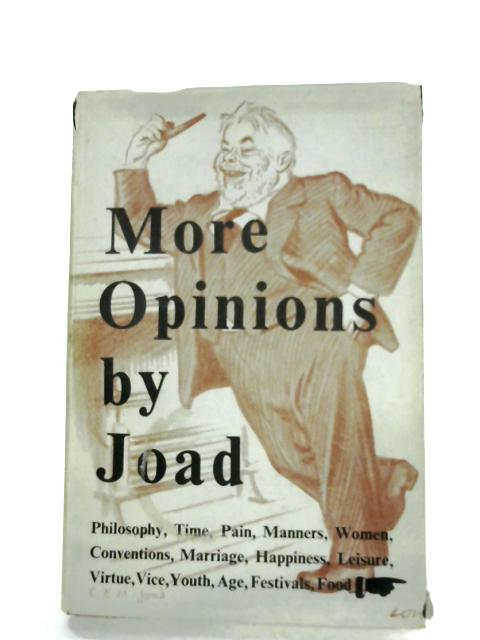 More Opinions by C. E. M. Joad
