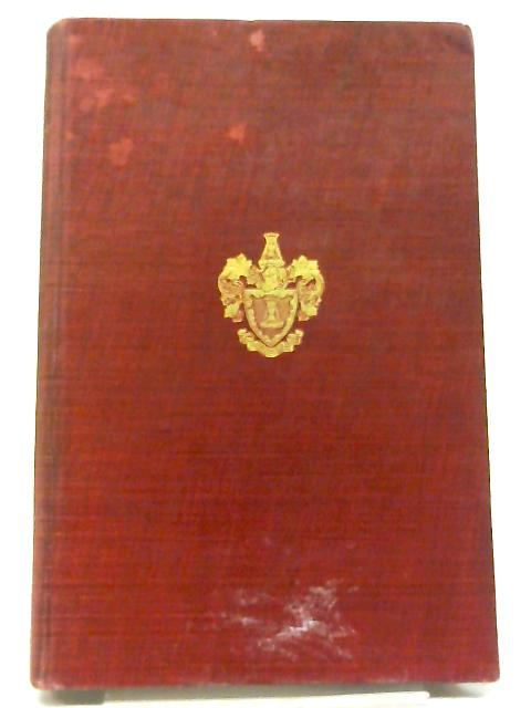 An Account Of The Mistery Of Mercers Of The City Of London By Sir John Watney