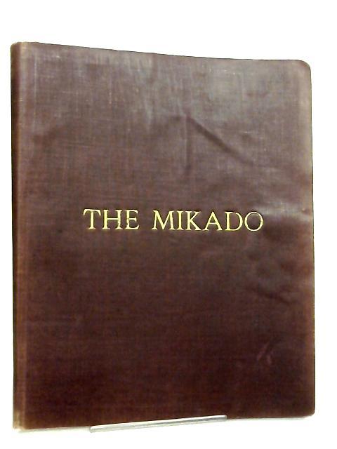 Vocal Score The Mikado By Gilbert & Sullivan