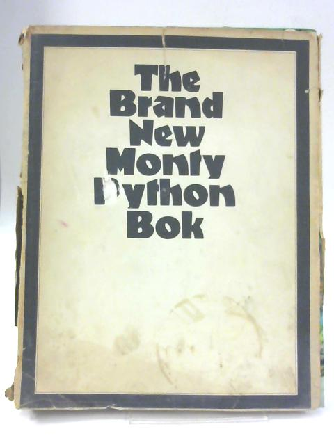 The Brand New Monty Python Bok By Unnamed