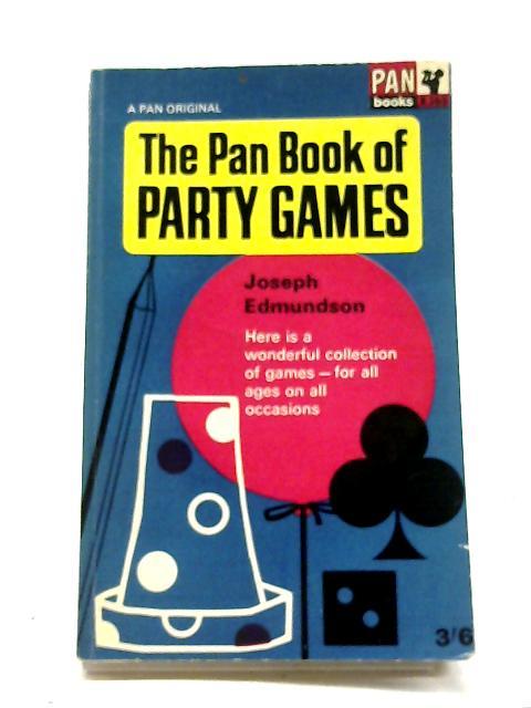 Pan Book of Party Games - XP29 By Joseph Edmundson