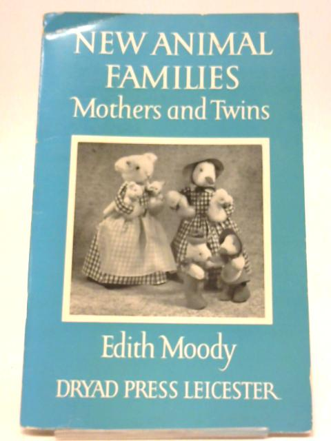 New Animal Families. Mothers And Twins By Edith Moody