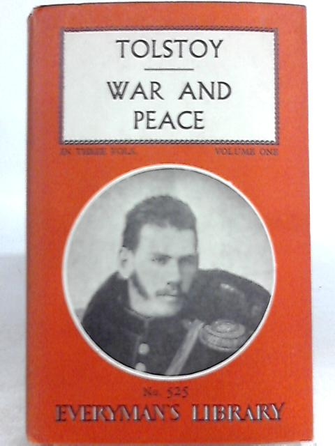 War and Peace (Volume 1) By Leo Tolstoy