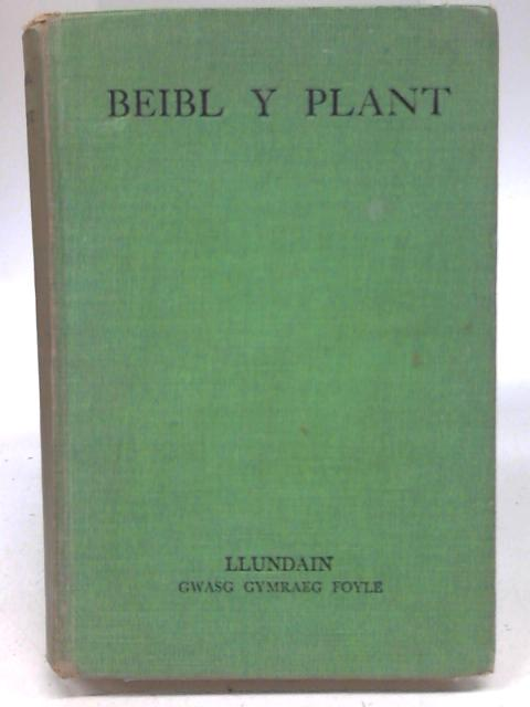 Beibl Y Plant By J Roberts Hughes