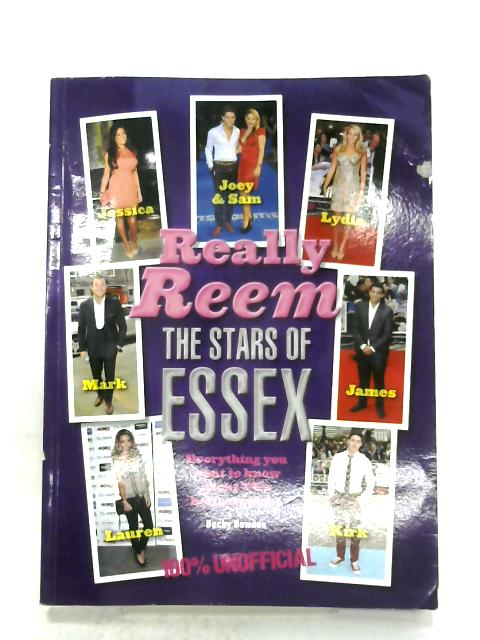 Really Reem: The Stars Of Essex By Becky Bowden