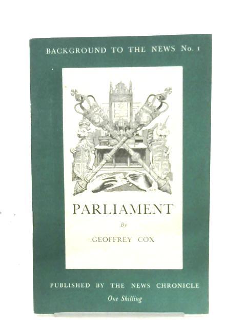 Parliament By Geoffrey Cox