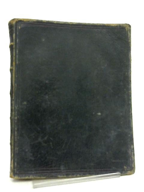 The Book of Common Prayer, Together with the Psalter or Psalms of David By Anon