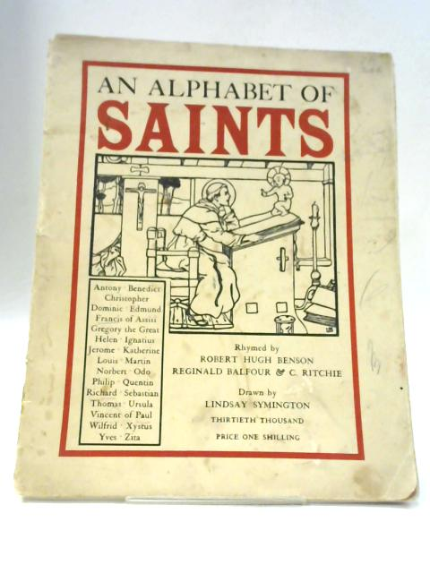 An Alphabet Of Saints By Unnamed