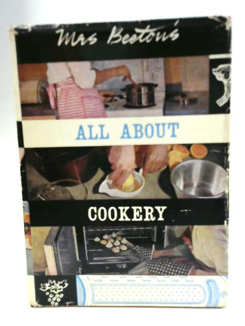 Mrs Beeton's All About Cookery By Mrs Beeton