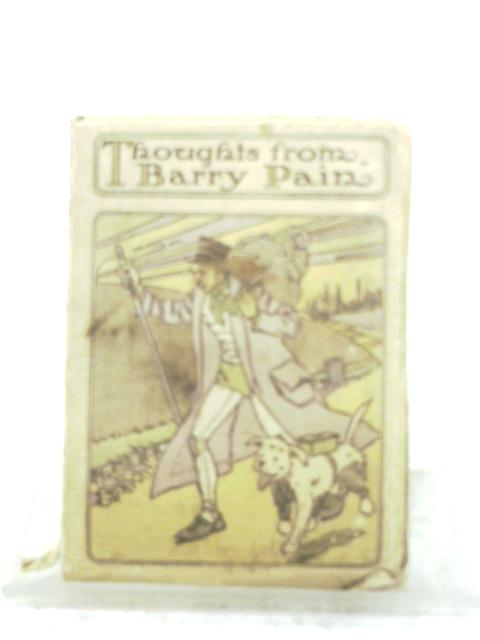 The Humour Of Barry Pain By Elsie E. Morton (Ed.)