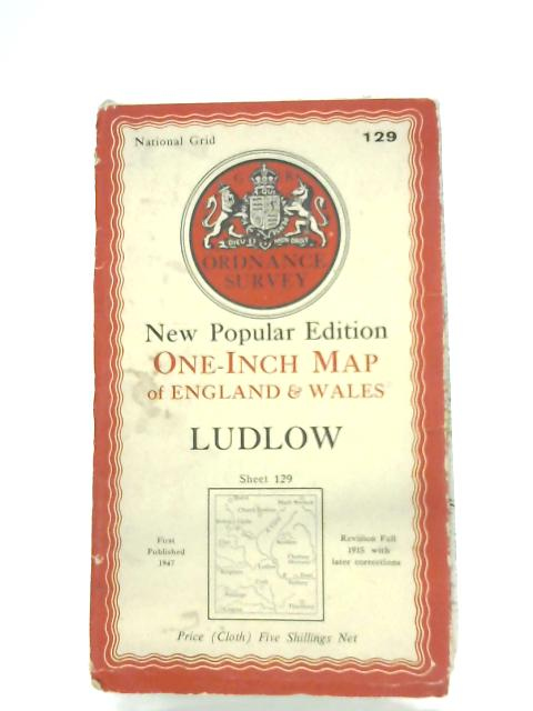 Ludlow (Sheet 129) By Anon