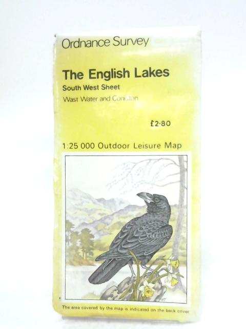 The English Lakes (South West Sheet) By Anon