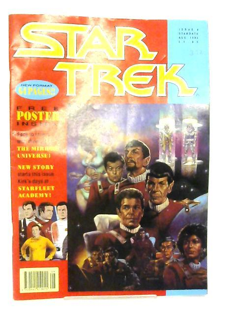 Star Trek Issue 6 August 1992 By Various