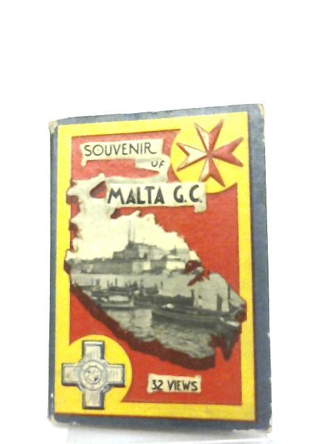 Souvenir of Malta G.C. 32 Views by Anon