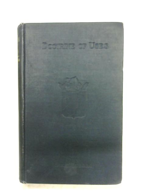 The Doctrine Of Uses by Emanuel Swedenborg