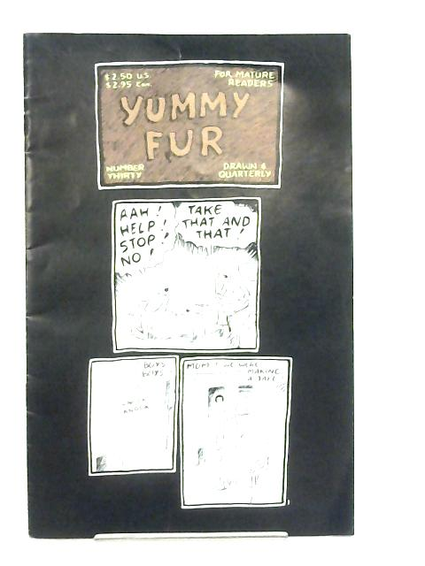 Yummy Fur No 30 April 1993 By Chester Brown