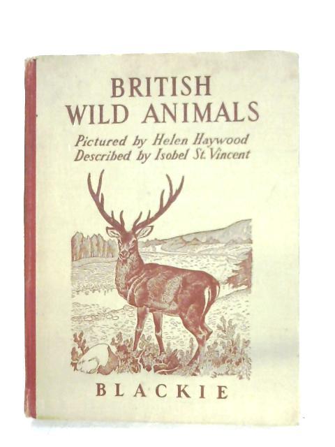 British Wild Animals By Helen Haywood