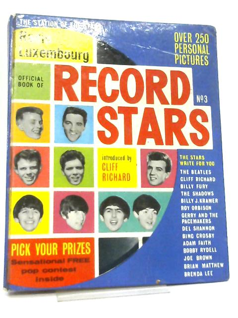 Radio Luxembourg Book of Record Stars No. 3 By Jack Fishman