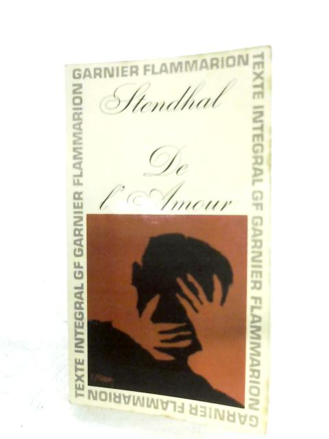 De L'amour By Stendhal