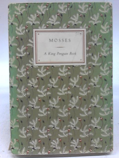 Book of Mosses by Paul Richards