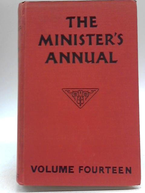 The Minister's Annual Volume Fourteen By Joseph Mccray Ramsey