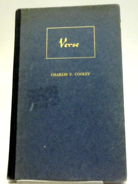 Verse By Charles P. Cooley