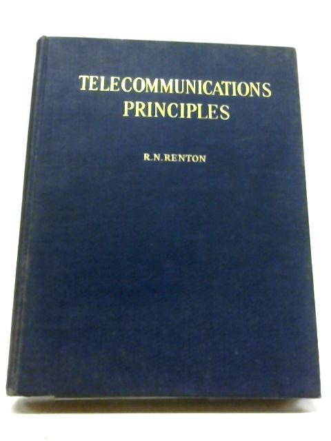 Telecommunication Principles By Robert Norman Renton