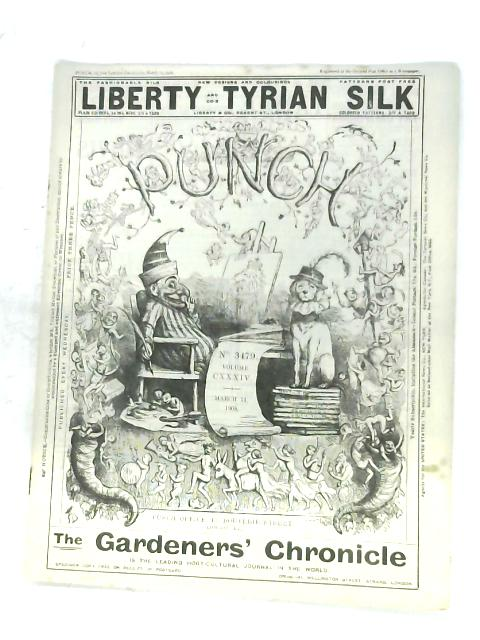Punch: Volume CXXXIV, March 1908 By Anon