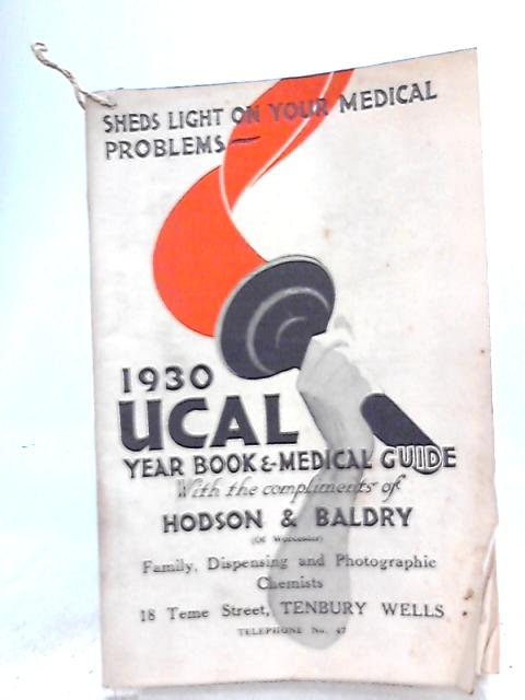 1930 UCAL Yearbook and Medical Guide by