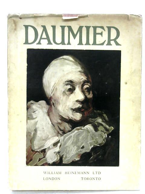 Daumier By Jacques Lassaigne