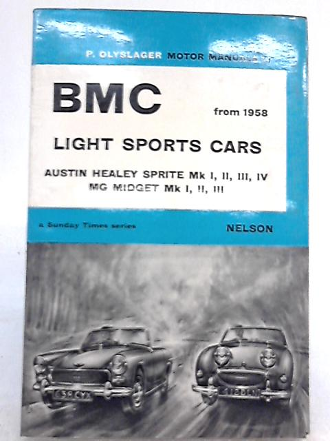 Handbook for BMC Light Sports Cars by Piet Olyslager