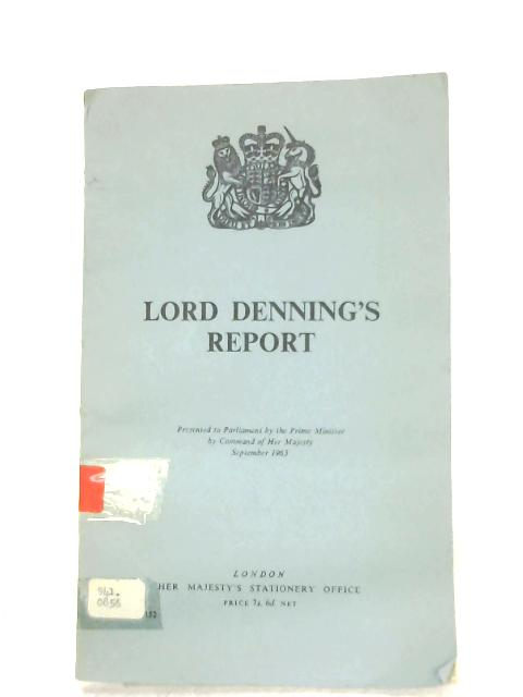 Lord Denning's Report by Lord Denning