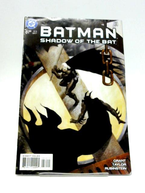 Batman Shadow of the Bat No 52 By DC Comics