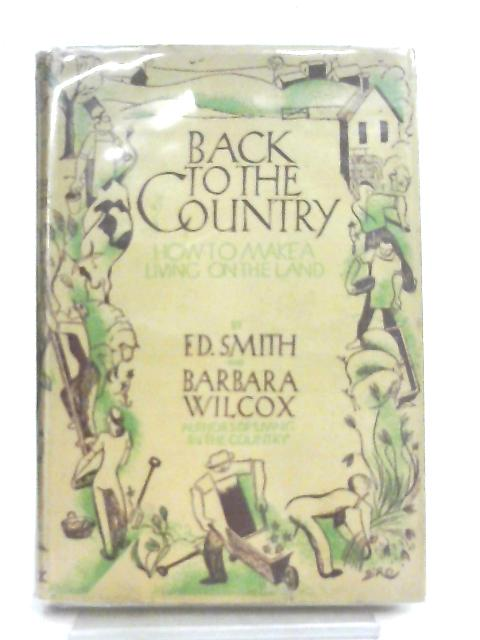 Back To The Country By F. D. Smith & B. Wilcox