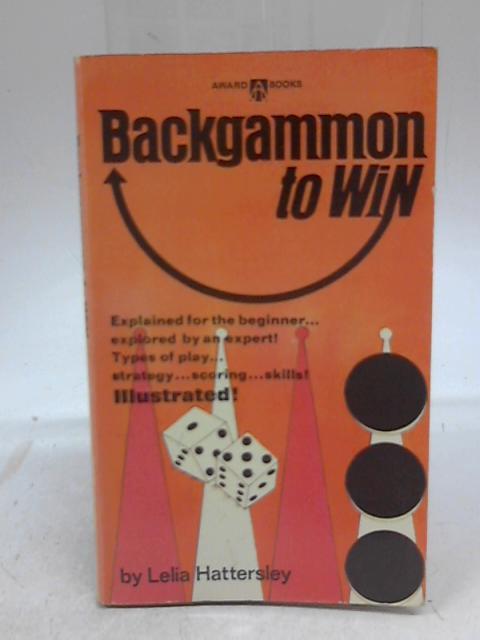 Backgammon To Win By Lelia Hattersley
