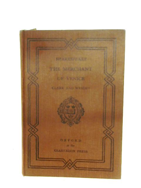 The Merchant Of Venice By W. G. Clark (Ed.)