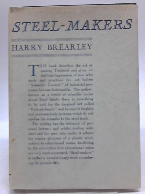 Steel-Makers By Harry Brearley