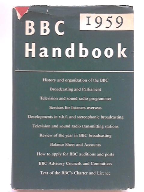 BBC Handbook 1959 by BBC