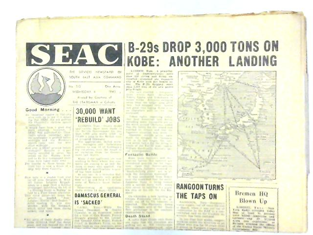 SEAC (South East Asia Command) No 521 1945 By Various