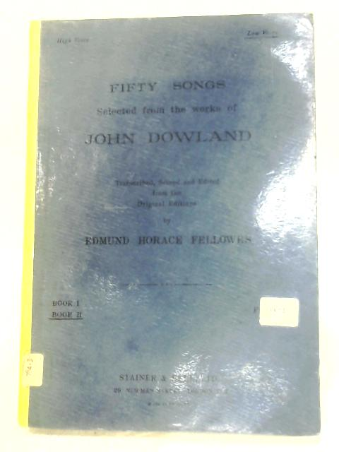 Fifty Songs: Book II by John Dowland