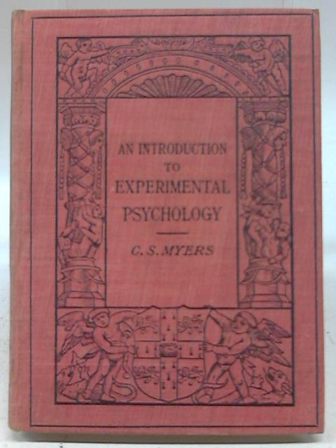 An Introduction to Experimental Psychology by Chalres Myers