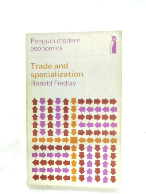 Trade And Specialization By Ronald Findlay