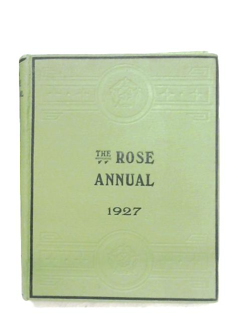 The Rose Annual For 1927 By Courtney Page (Editor)