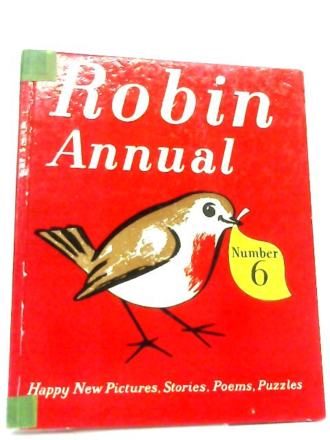 The Sixth Robin Annual By Marcus Morris